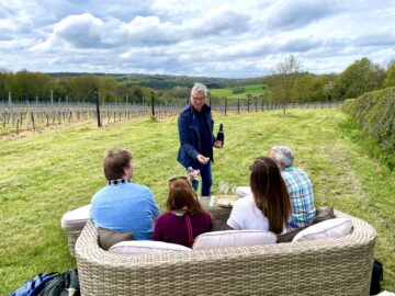 Tasting of our Luxury awardwinning Sparkling Wine again…. - Busi Jacobsohn